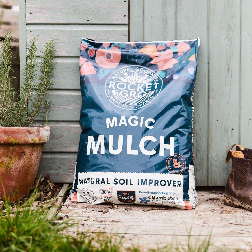 Magic Mulch, organic soil improver for your garden